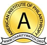 charity navigator 'A' rating