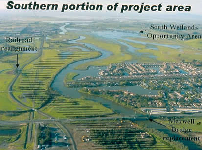 graphic depicting floodplain improvement plans