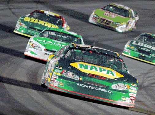 NASCAR. Photo: Reuters