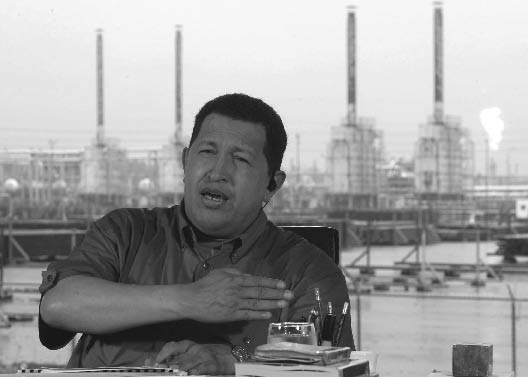 photo of Mr. Chavez, speaking