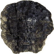 photo of a lump of coal