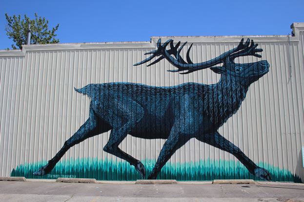 photo of an outdoor artwork