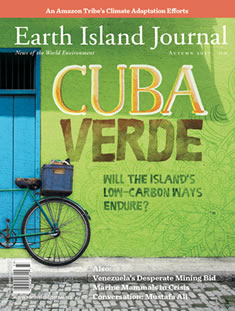 cover, Autumn 2017 Earth Island Journal