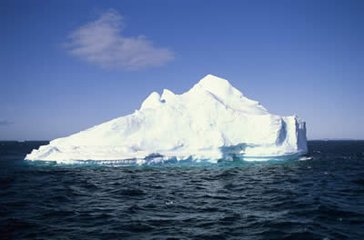 iceberg at sea.