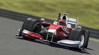 photo of a formula 1 car