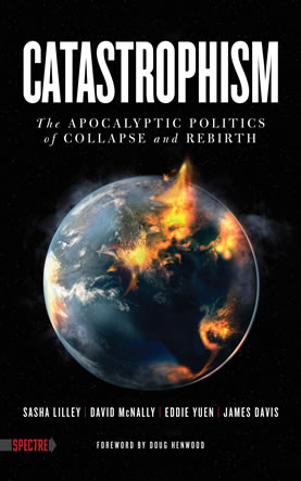 book cover depicting an exploding planet Earth