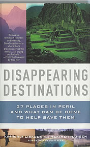 photo of the book cover; subtitled: 37 places in peril and what can be done to help save them