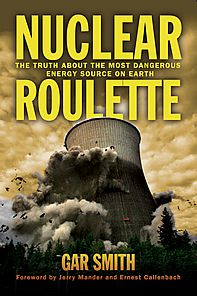 book cover thumbnail, showing a reactor cooling tower collapsing in flame