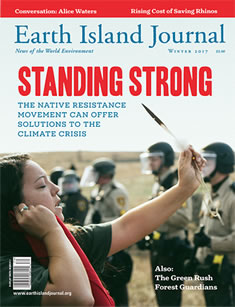 cover, Winter2017 Earth Island Journal