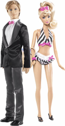 photo of Barbie and Ken dolls