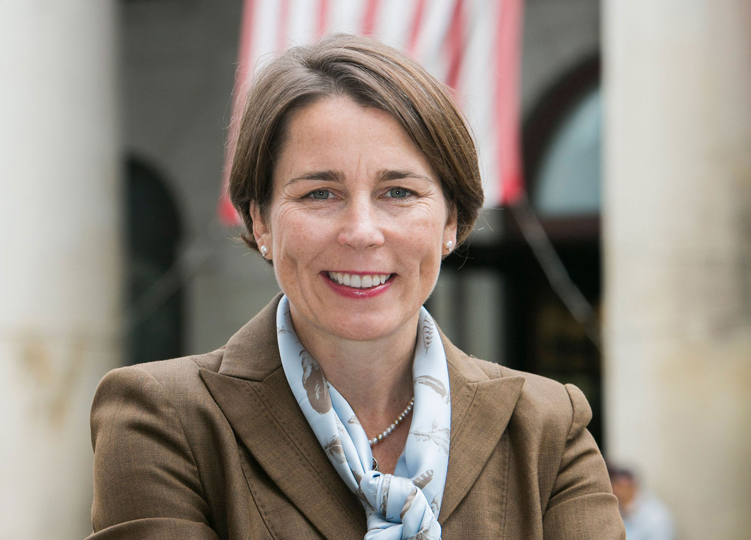 Healey was one of two state's attorneys to initiative a fraud investigation of ExxonMobil in 2015. Her male counterpart in the investigation received most of the attention for the case until he stepped down earlier this year amid sexual assault accusations. Photo by Marilyn Humphries.