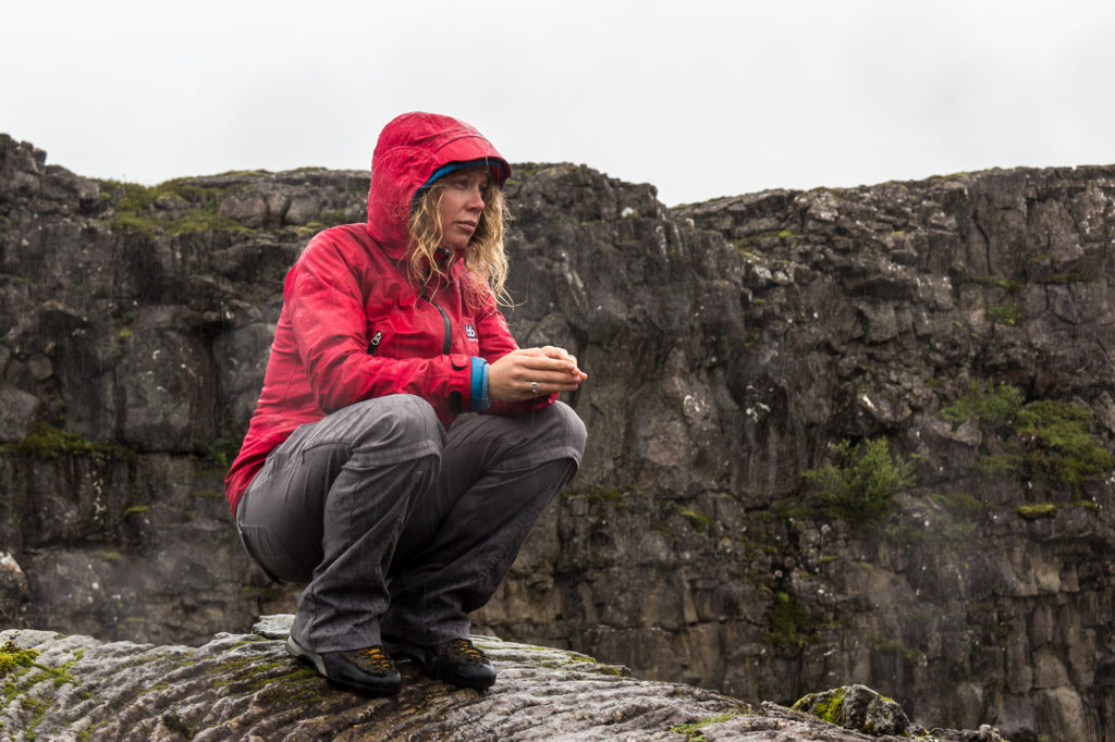 Jackson says there are some major systemic hurdels to women entering the field of glaciology, including childcare requirements and hesitation to ask for speaking fees. Photo by James Bernal.