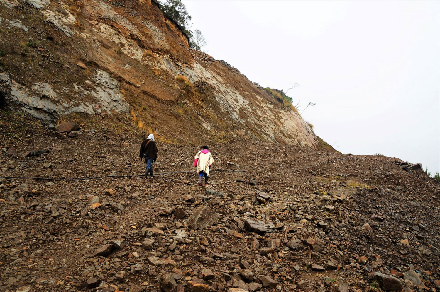 Photo of mining in the Colombian Paramos