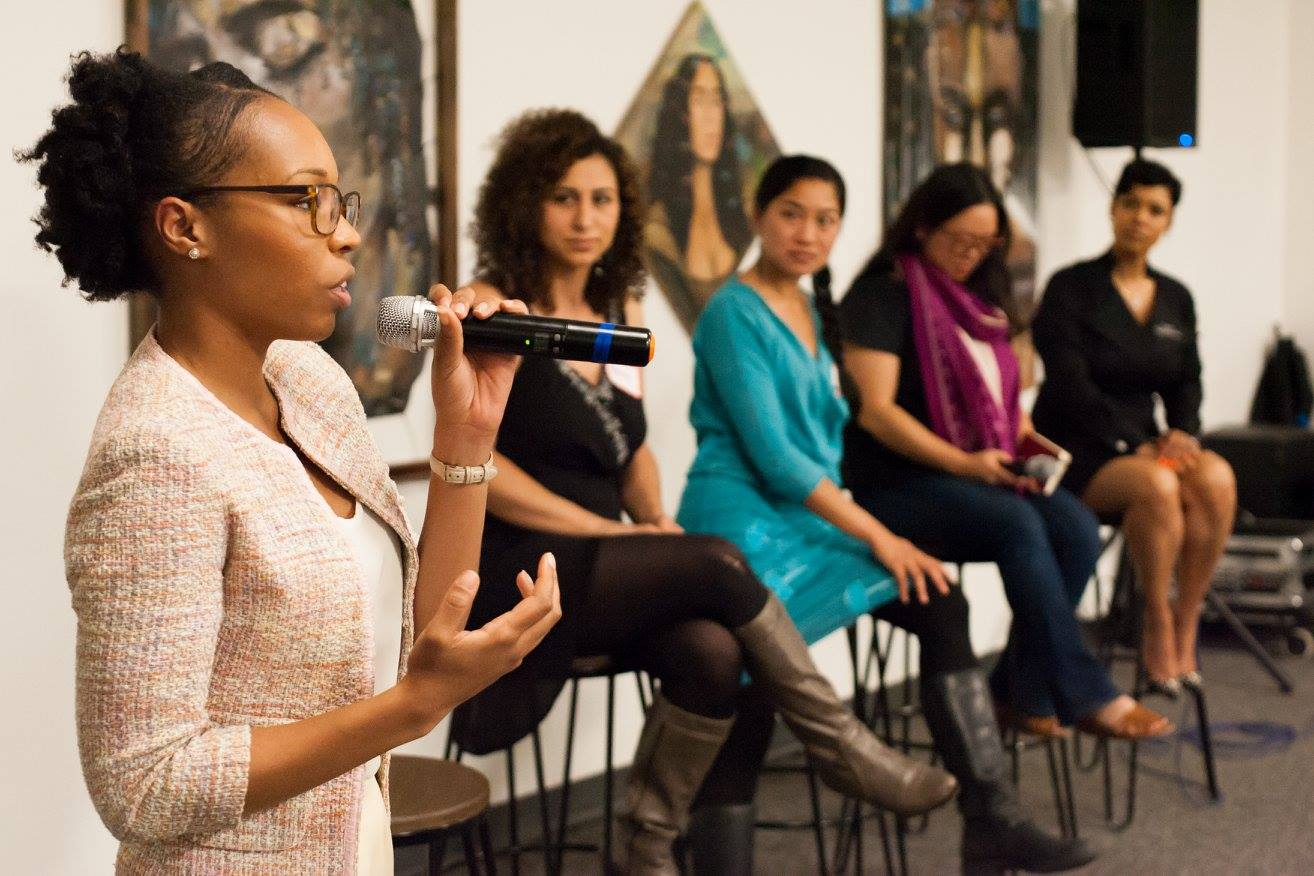Shaniece Alexander, director of the Oaklan Food Policy Council says the current situation has created a space that didn't exist before for difficult conversatons about gender inequality. Photo courtesy of OFPC.
