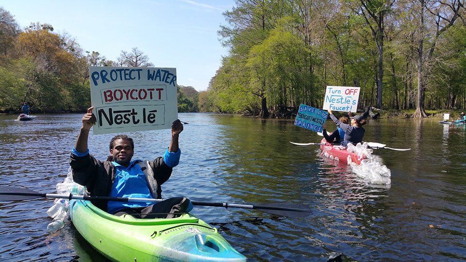 boycottKayaker In: The River of Discords | Our Santa Fe River, Inc. (OSFR) | Protecting the Santa Fe River in North Florida