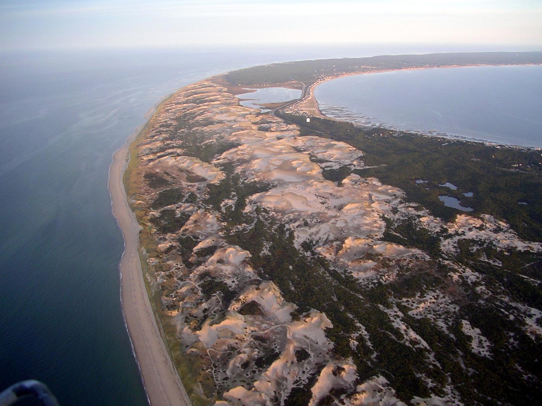 photo of cape cod dunes