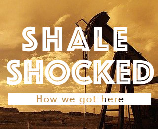 Shale shocked how we got here logo