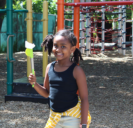 photo of child outdoors