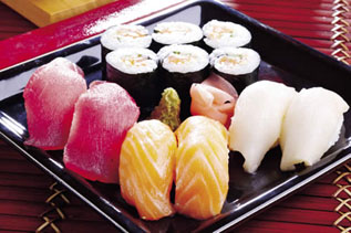 photo of some sushi